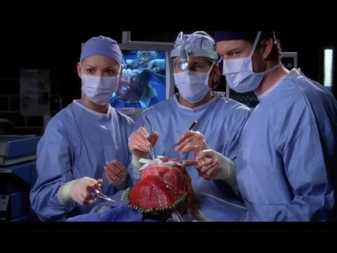 George O'Malley - Where'd his face go - 504 Grey's Anatomy ...