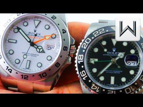 MINI VERSUS: Rolex GMT-Master II vs Rolex Explorer II Polar (116710LN vs. 216570)