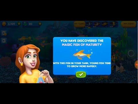 Fish Tycoon 2 - Dapat Magic Fish Ke 4 Senangnya Hatiku :)