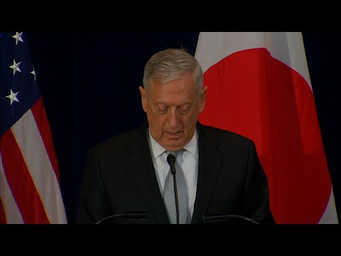 Mattis: 'If Necessary Defeat' North Korea Threat