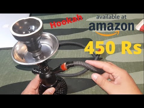 Best Cheap HOOKAH at Amazon | Free- paan flavour and coal pack by JaipurCrafts