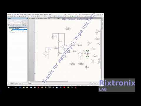 Tutorial for altium designing tda7266 amplifier  14w stereo with baxandall tune control part 3
