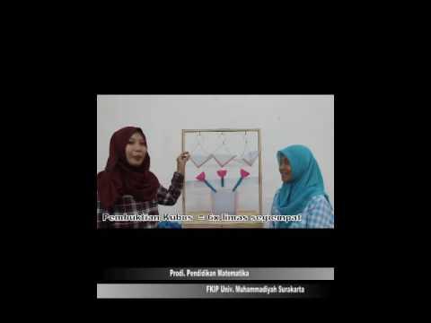 Alat Peraga Matematika Pembuktian Volume Prisma Dan Kubus