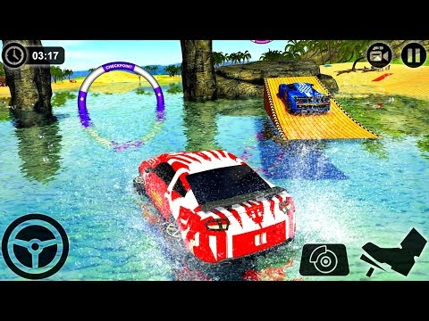 Floating Water Surfer Car Driving - Beach Racing #q | BamBi Tv - Android GamePlay FHD