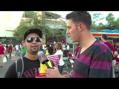 Patrick Corbin interviews fans