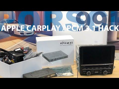 Apple CarPlay DIY (Wireless) for Porsche 911 / Cayman / Boxster / Macan / Cayenne / Panamera