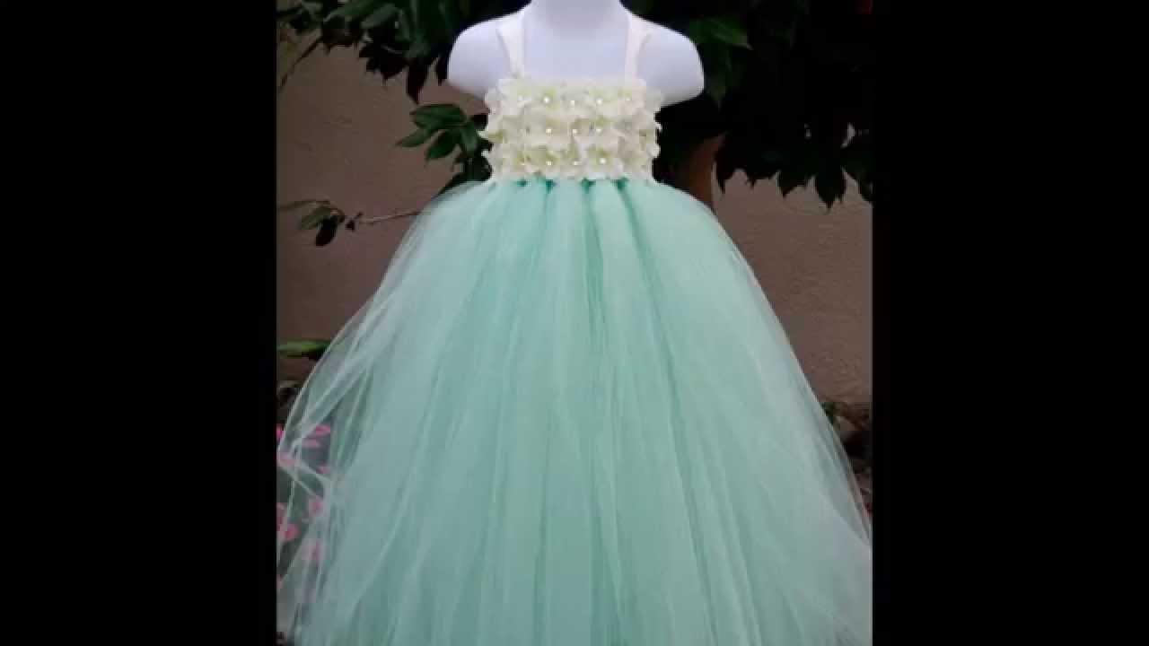 Wedding Flower Girls Dresses-Ball Gown Dresses-Formal Wear Dress ...