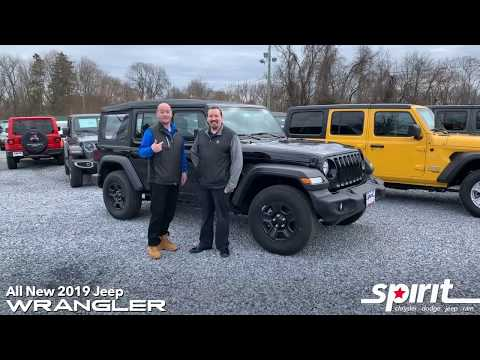 the 2019 Jeep Wrangler for $386 per month