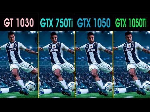 FIFA19  |  i5 3470  |  GTX 1050 Vs. GTX 1050Ti Vs. GTX 750Ti Vs. GT 1030