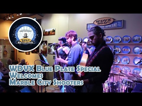 Marble City Shooters perform King Of The Swingers at WDVX, Blue Plate Special show