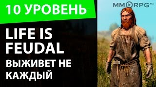 Life is Feudal. Выживет не каждый. Десятый уровень