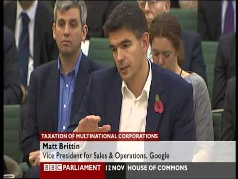 UK v Google - Paying the right Taxation