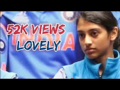 Beautiful😱😱😱💗__Kannu Athu Gunnu Mathiri_Indian Cricket Player 😍😍😍_MANDHANA _Tamil What's App