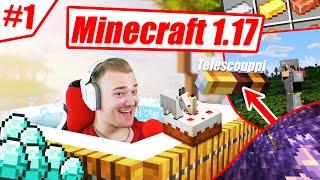YLLÄTYIN TÄSTÄ MITÄ LÖYSIN!   Minecraft 1.17 #1