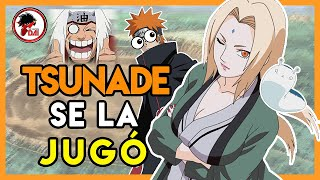 Naruto: Por qué TSUNADE SE LA JUGÓ como HOKAGE en Naruto Shippuden