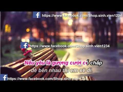 Karaoke | Không Còn Cảm Giác - Lương Minh Trang (Beat chuẩn)