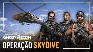 ghost recon wildlands operao skydive