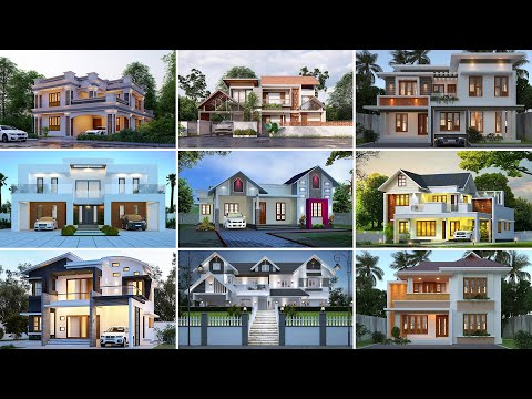 Top 50 home front view designs of August 2021 |