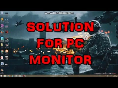 How To Fix Monitor Power Button Lockout