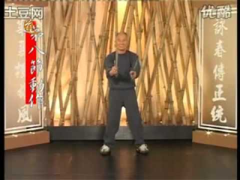 Ip Chun Performing the Baat Cham Dao form