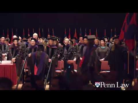 2018 Penn Law Commencement