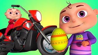 Five Little Babies Driving Transport Vehicles (Single) | Zool Babies Fun Songs | Videogyan 3D Rhymes
