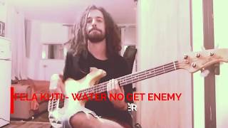 Download lagu Fela Kuti - Water No Get Enemy - Bass Cover - Assaf Wolf