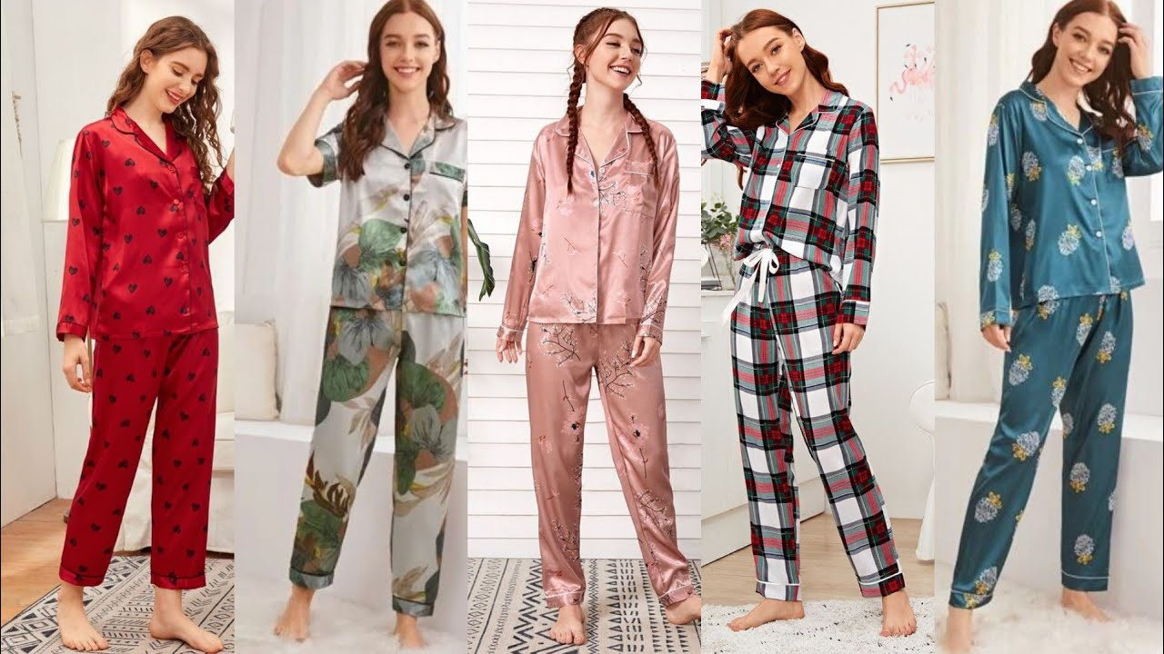Download most attractive and Stylish girls night was prepared to his pyjamas set collection