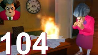 Scary Teacher 3D - Gameplay Walkthrough Part 104 Old Update V4.2.3 All Old Levels (Android,iOS)