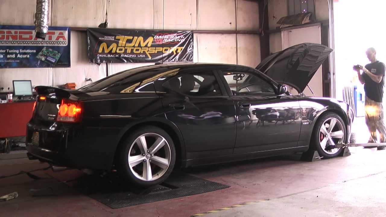 Nitewing 2010 Dodge Charger Srt8 Dyno Youtube