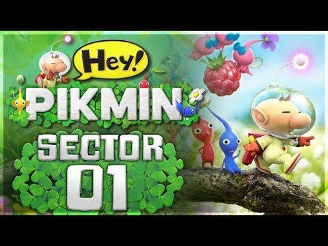 Hey!  Pikmin - Sector 1: Brilliant Garden | 100% All Treasures!