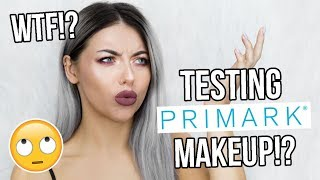 TESTING PRIMARK MAKEUP - DOES IT REALLY WORK!? FULL FACE FIRST IMPRESSIONS