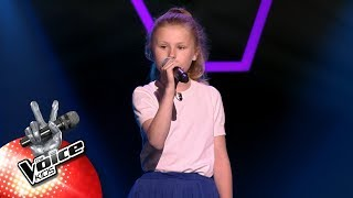 Josephine - 'Strong'   Blind Auditions   The Voice Kids   VTM
