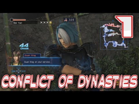 [1] Conflict of Dynasties (Let's Play Dynasty Warriors 8 Empires)