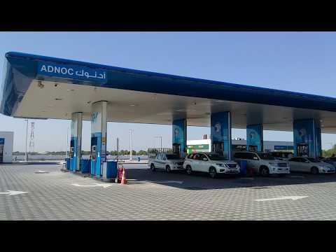 Adnoc Feul Filling Station Abu Dhabi, Vlog #2