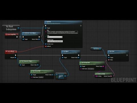 Basic GET tutorial for VaREST plugin and Unreal Engine 4