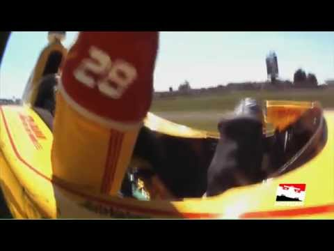 Driver Ryan Hunter-Reay Red Carpet Interview from the INDYCAR Championship Celebration
