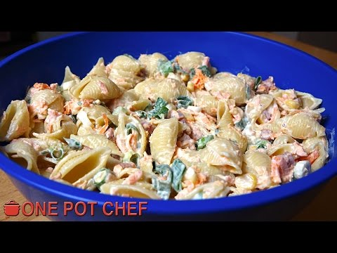 ultimate-creamy-pasta-salad- -one-pot-chef