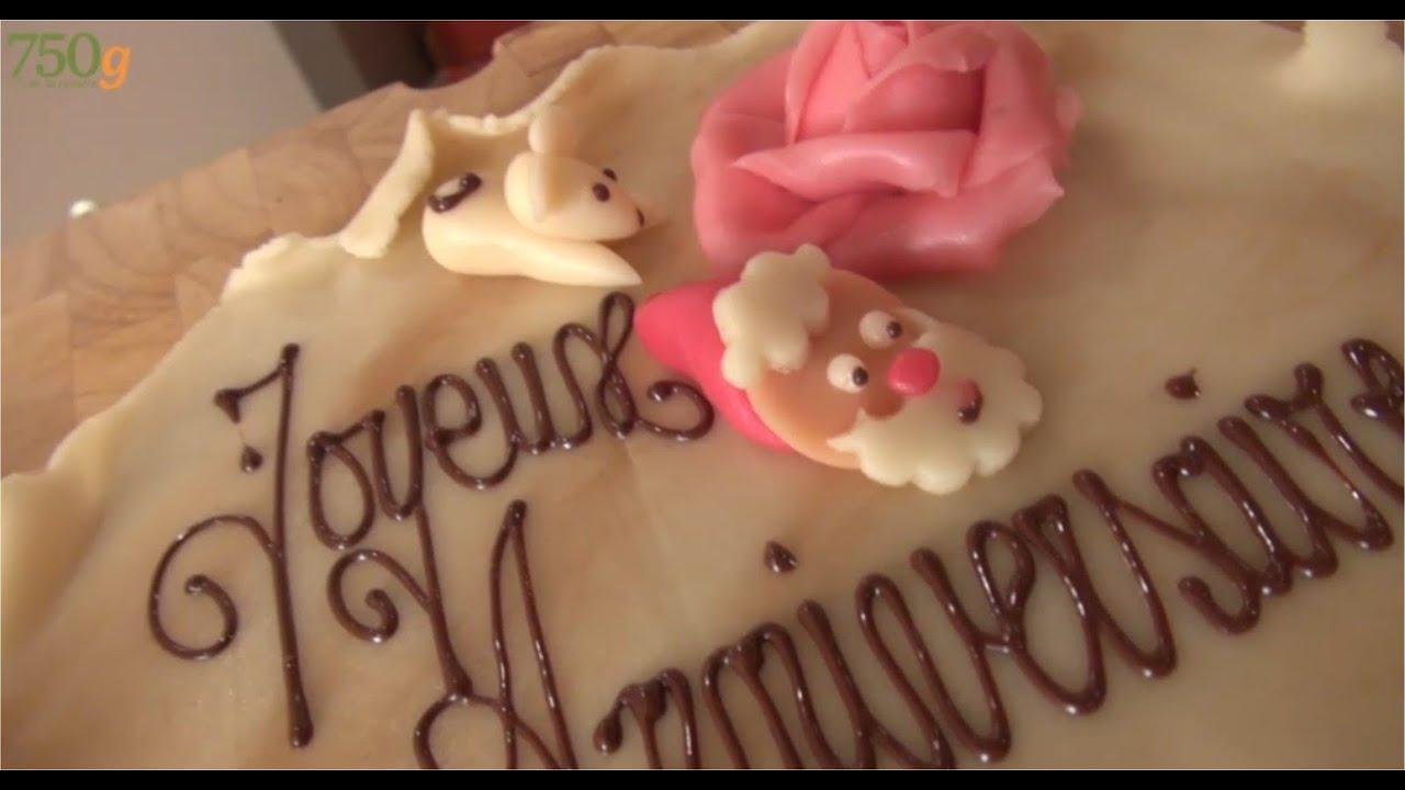 deco gateau joyeux anniversaire
