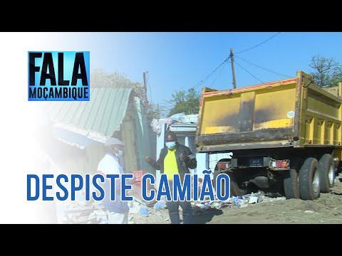 CAMIÃO DESPISTA E EMBATE EM MAPUTO, 13/07/2021