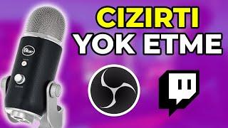 Mikrofon Dip Ses Kaldırma (OBS Studio Twitch Yayın) %100 Çalışıyor