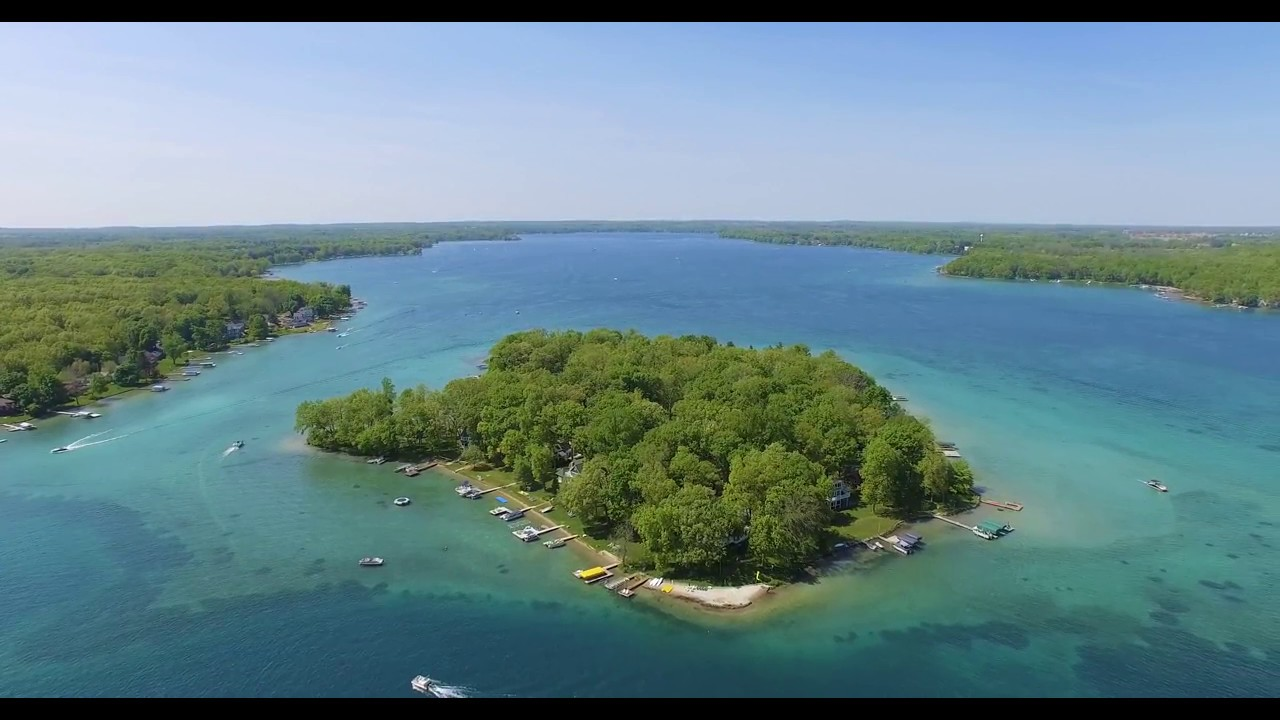 gull lake summer drone perfect day youtube