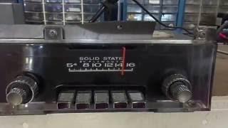 1967 1968 Plymouth Fury Push Button AM Radio   Mopar 250
