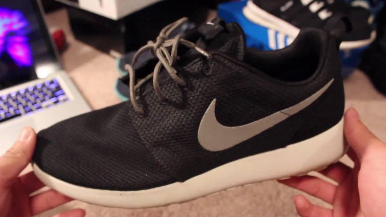 save off 8ea50 7cc78 5 UNIQUE WAYS TO LACE YOUR NIKE ROSHES - YouTube