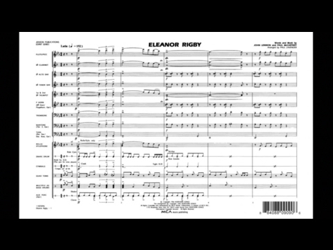 Eleanor Rigby by John Lennon & Paul McCartney/arr. Paul Lavender