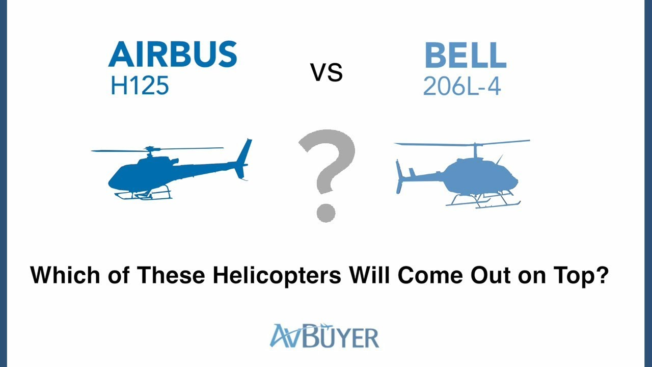 Heli Comparison | Airbus H125 vs Bell 206L-4
