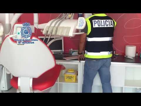 La Policía registra 19 sedes de iDental para asegurar los historiales médicos