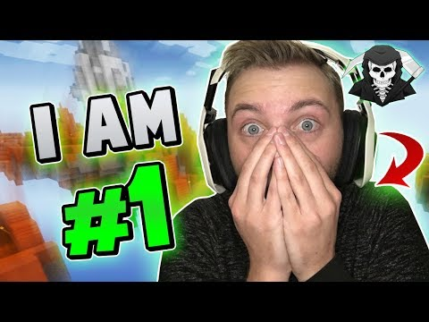 BECOMING THE #1 SKYWARS PLAYER! ( Hypixel Skywars FUNNY MOMENTS )