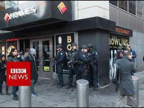 New York Explosion: Suspect in custody - BBC News