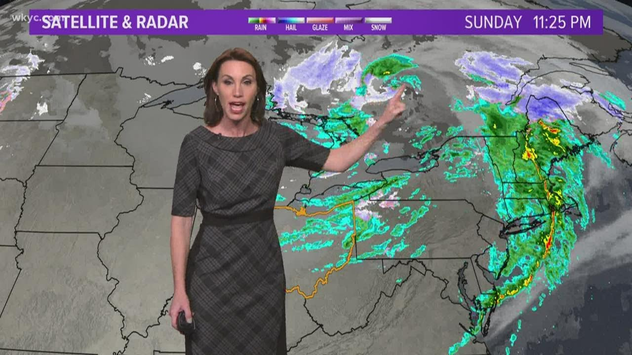 11 p.m. weather forecast for November 15, 2020